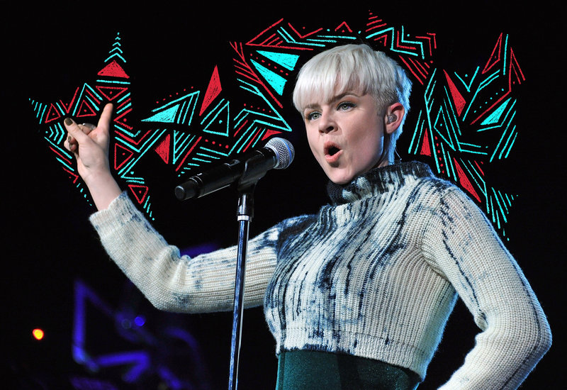 Robyn performs at Radio City Music Hall in 2011